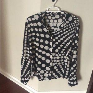 Le Caviar long sleeve beautiful blouse